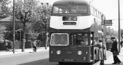 hull corporation buses history Leyland Atlantean No. 342, 1st June 1960.