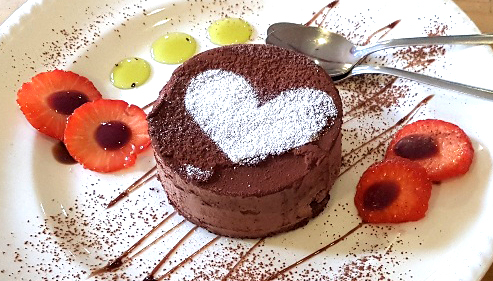 il paradiso on the forest york restaurant review dessert