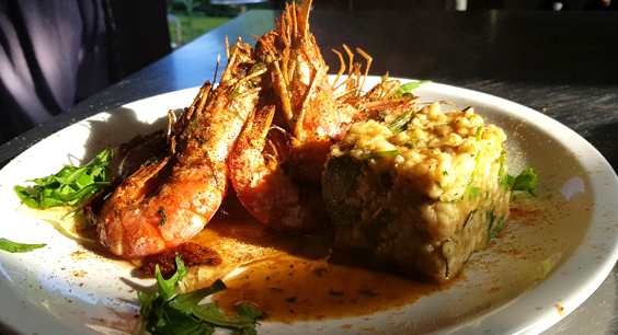 il paradiso on the forest york restaurant review prawns