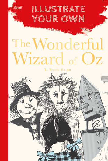 illustrate your own wonderful weizard of oz review cover