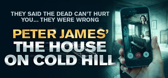 interview with author peter james house on cold hill