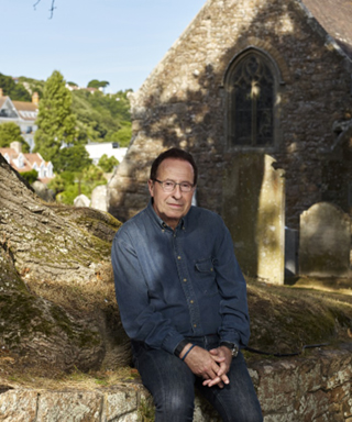 interview with author peter james portrait
