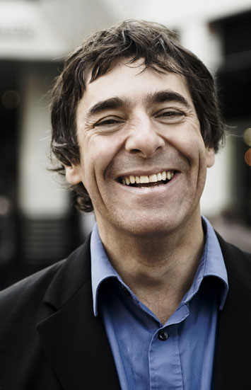 interview with mark steel comedian portrait