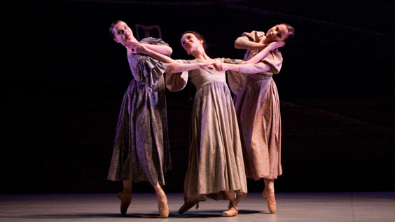jane eyre northern ballet review leeds grand march 2018 trio