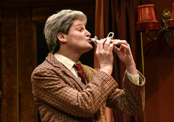 jeeves and wooster in perfect nonsense review york theatre royal november 2018 stage