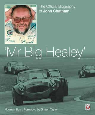 john chatham mr big healey biography review cover veloce