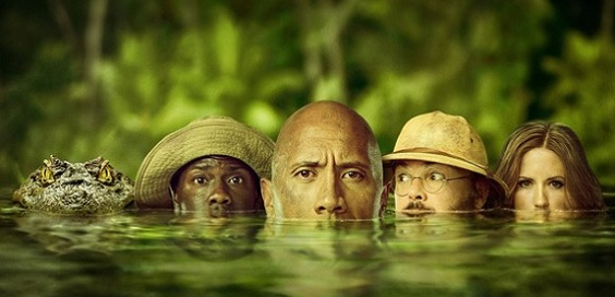 jumanji 2 welcome to the jungle film review water