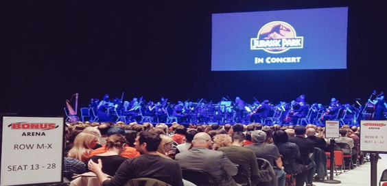 jurassic park in concert review hull bonus arena main