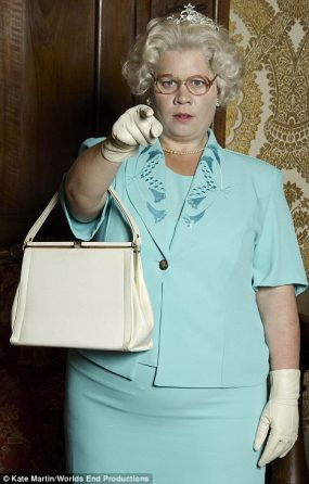 katy brand as the queen