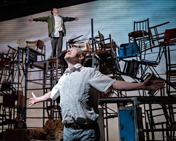 kes review leeds playhouse pop up theatre january 2019 hines