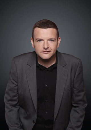 kevin bridges live comedy review sheffield city hall december 2018 portrait