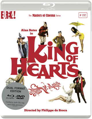 king of hearts film review dvd cover