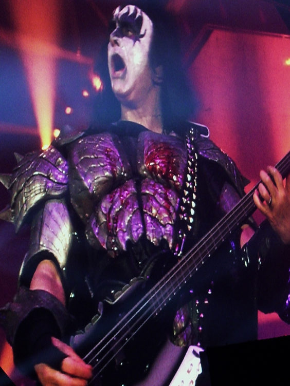kiss live review newcastle arena july 2019 gene