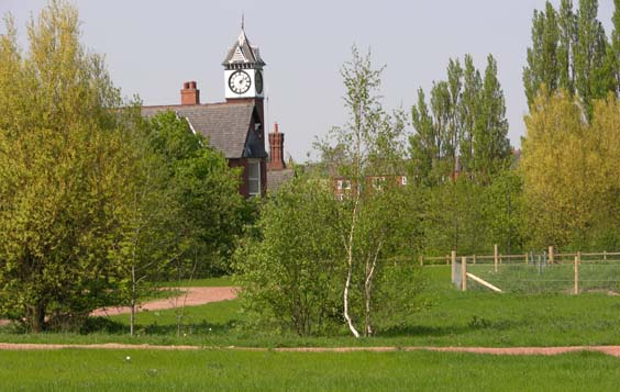 kiveton community woodlands walk clock tower