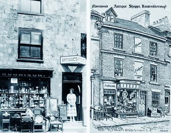 knaresborough history Morrison's Antiques