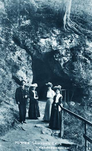 knaresborough history Mother Shipton's Cave