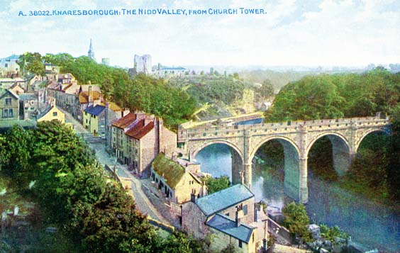 knaresborough history The Viaduct and the Gozunda, 2