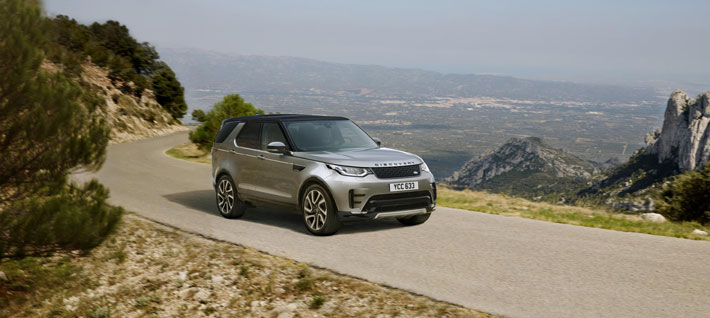 land rover discovery landmark edition car review front