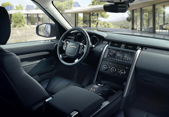 land rover discovery landmark edition car review interior