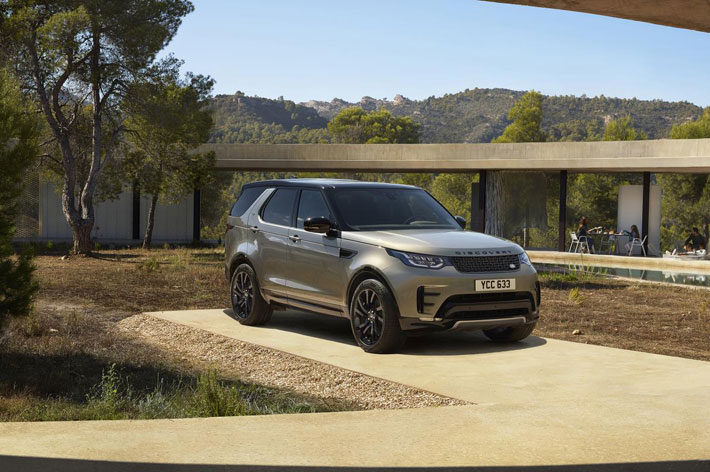 land rover discovery landmark edition car review side