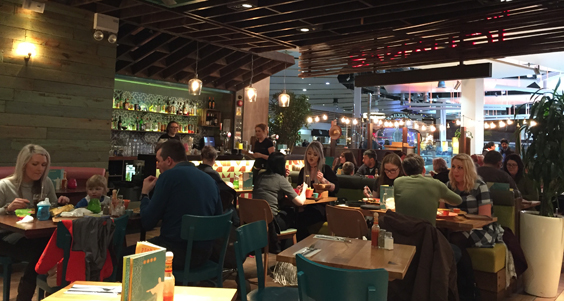 las iguanas meadowhall review