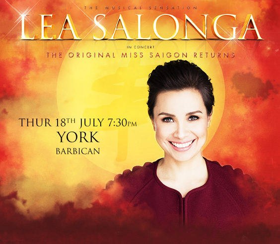 lea salonga live review york barbican july 2019 poster