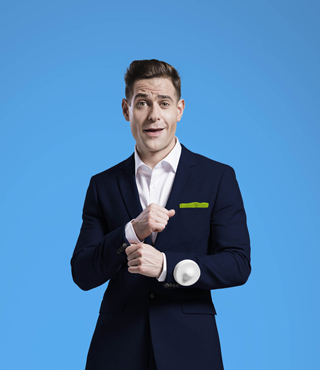 lee nelson live review ilkley kings hall february 2019 comedy