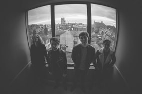 let man loose band interview hull yorkshire black and white