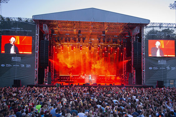 lewis capaldi live review scarborough open air theatre july 2019 arena