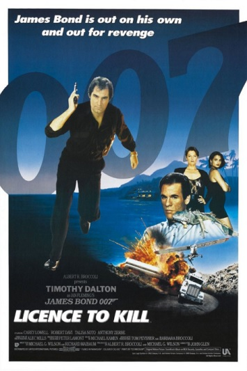 licence to kill film review poster