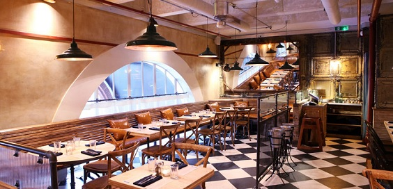 limeyard leeds restaurant review interior