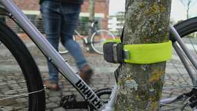 litelok review yorkshire cycling tied to tree locks