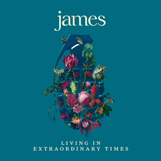 living in extraordinary times james album review cover