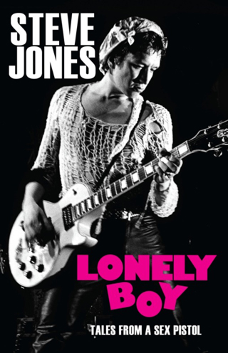 lonely boy steve jones book review cover