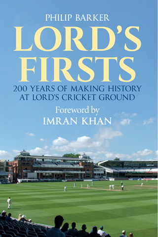 lord's firsts book review cover