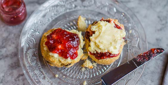 lost and found afternoon tea review leeds Scones Birdseye