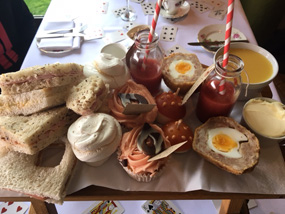 mad hatter's afternoon tea hallmark hotel hull mother's day review spread