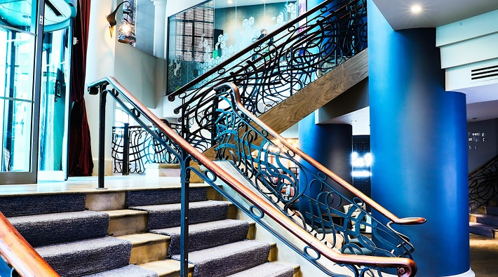 malmaison leeds hotel review stairs
