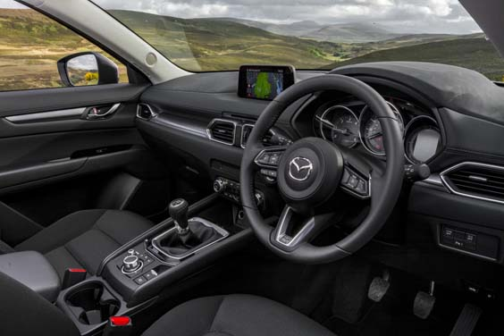 mazda cx-5 review interior