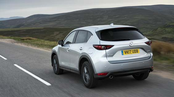 mazda cx-5 review rear
