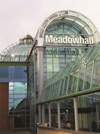 meadowhall shopping centre sheffield history dome