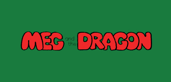 meg and the dragon Jan Pieńkowski book review logo