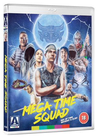 mega time squad film review bluray cover movie