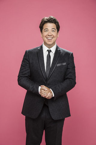 michael mcintyre live comedy review leeds arena may 2018 pink