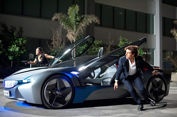 mission impossible 4 film review car
