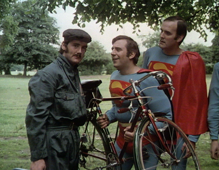 monty python's flying circus series 1 bluray review bicycle repair