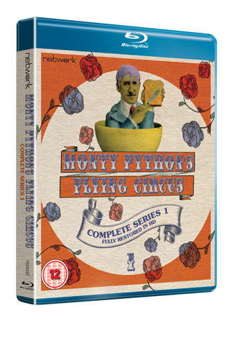 monty python's flying circus series 1 bluray review cover