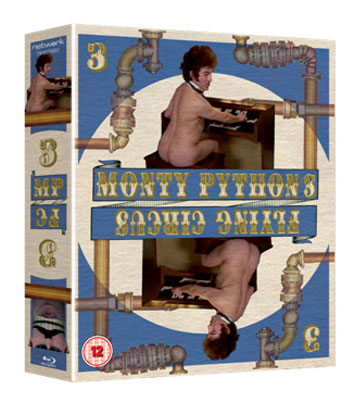 monty python's f;ying circus series 3 bluray review cover