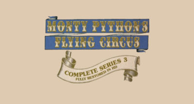 monty python's f;ying circus series 3 bluray review logo main