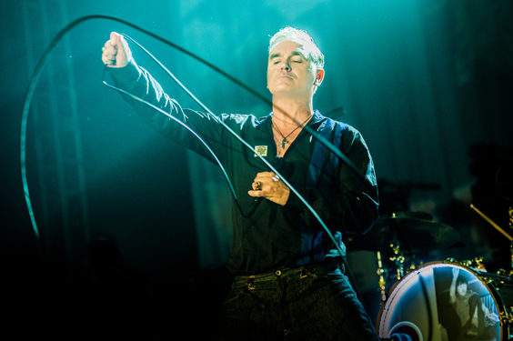 morrissey live review leeds arena february 2018 stage